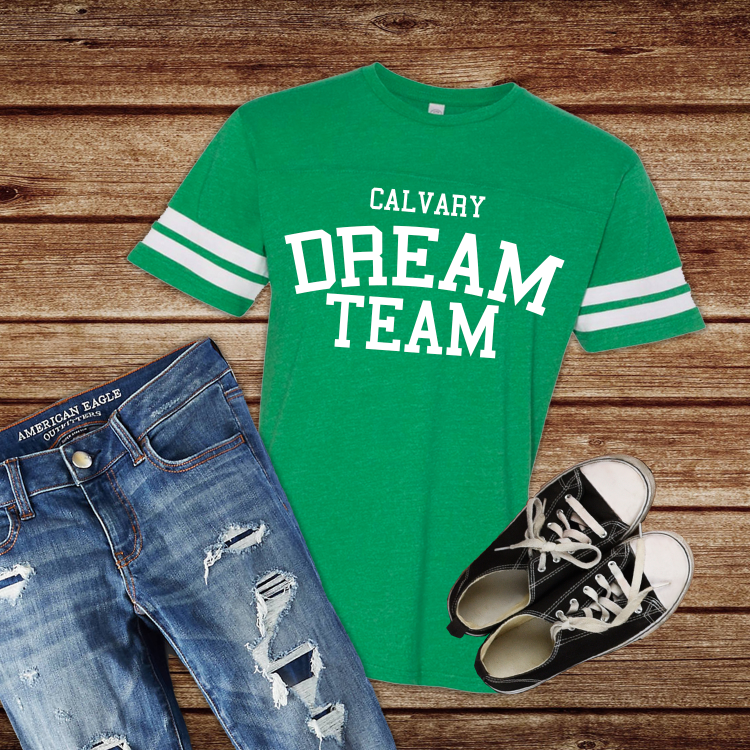 Calvary dream team shirt
