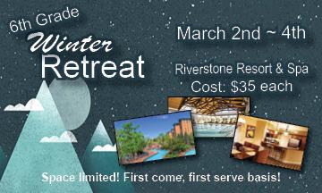 Winter retreat planning center logo