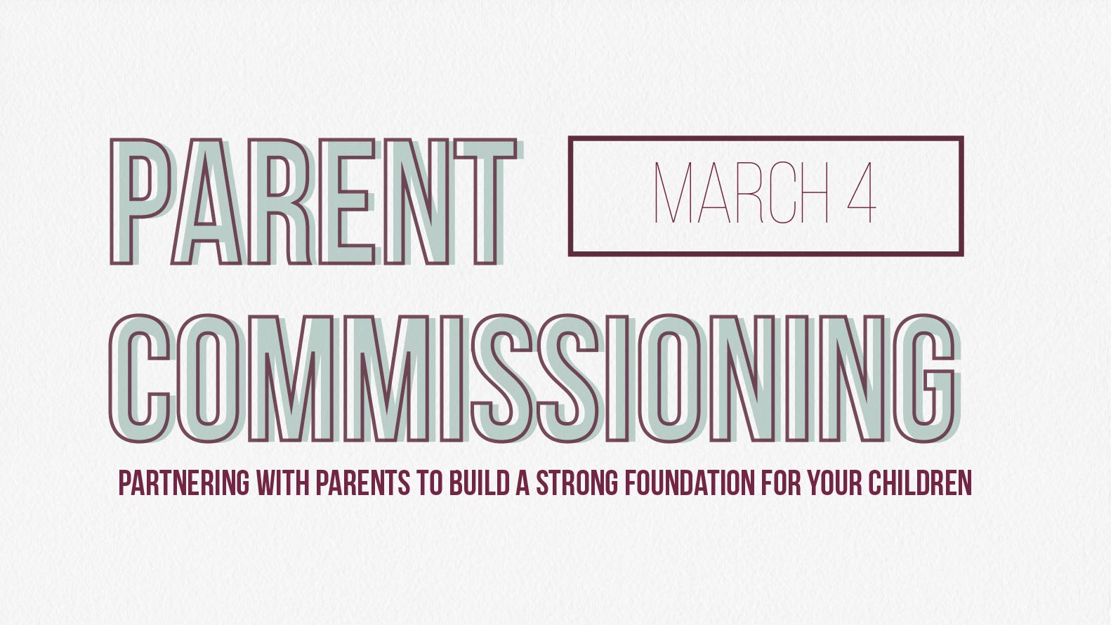 Parent commissioning web and monitor march 4 website