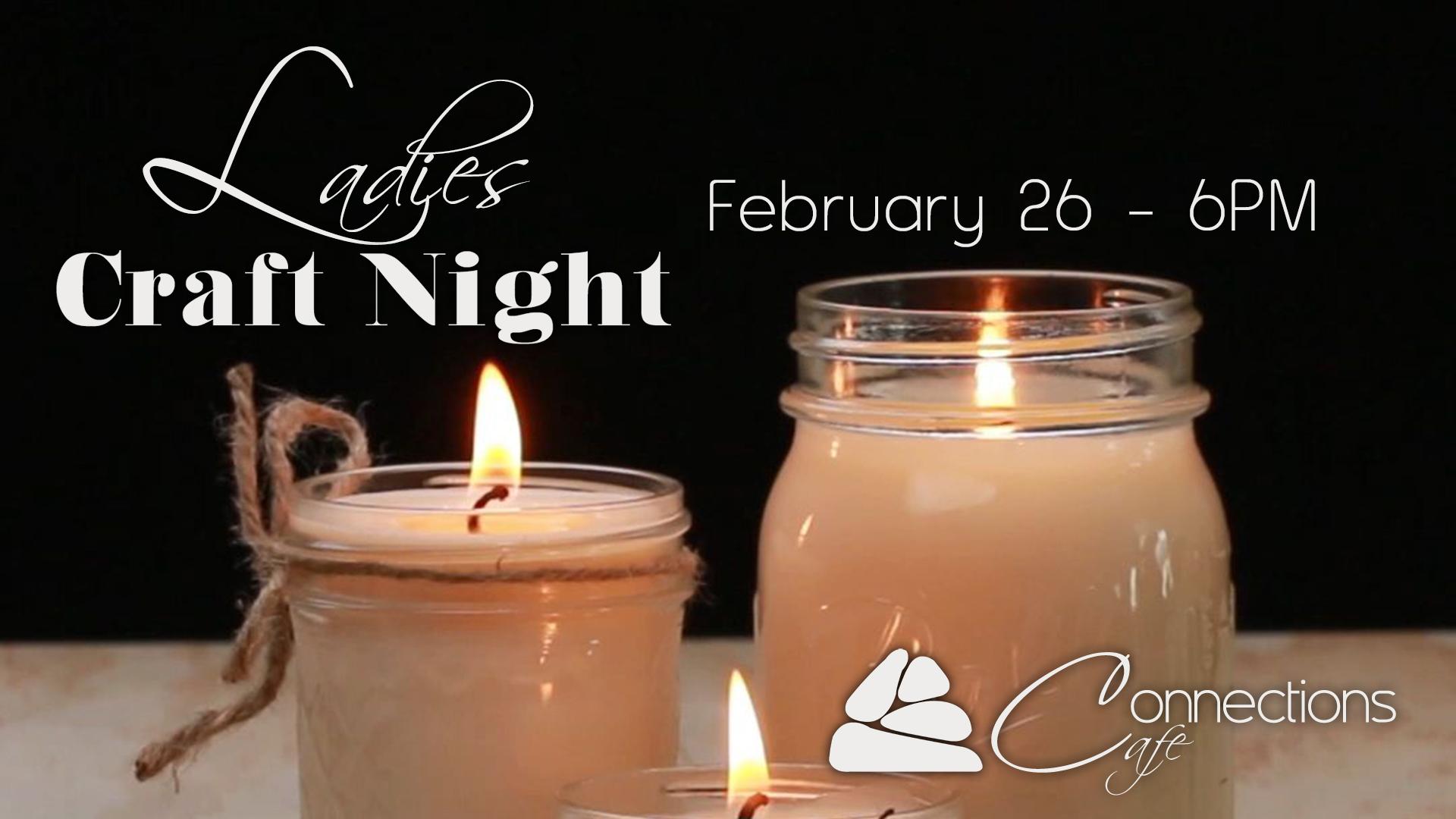 Craft night   candles info