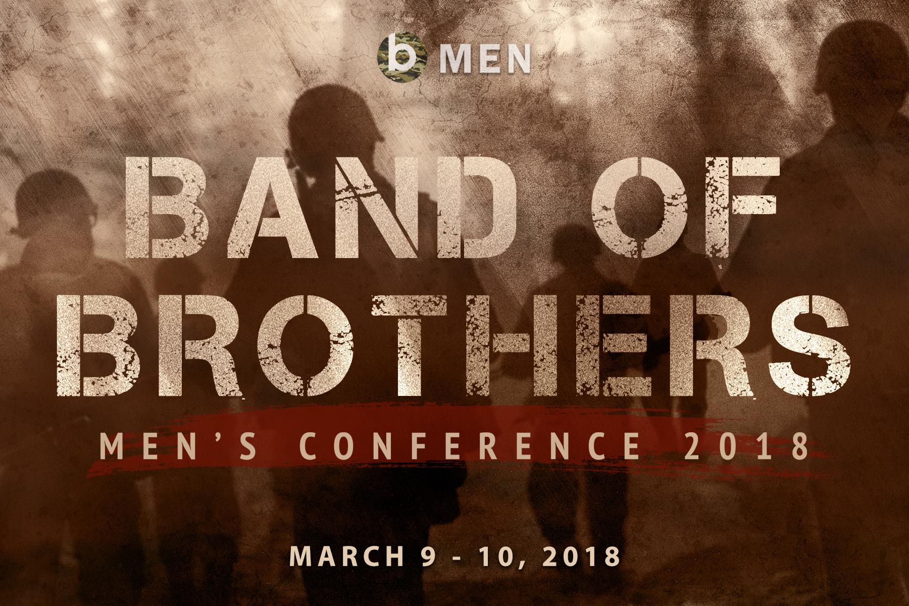 Men s conference invite card front