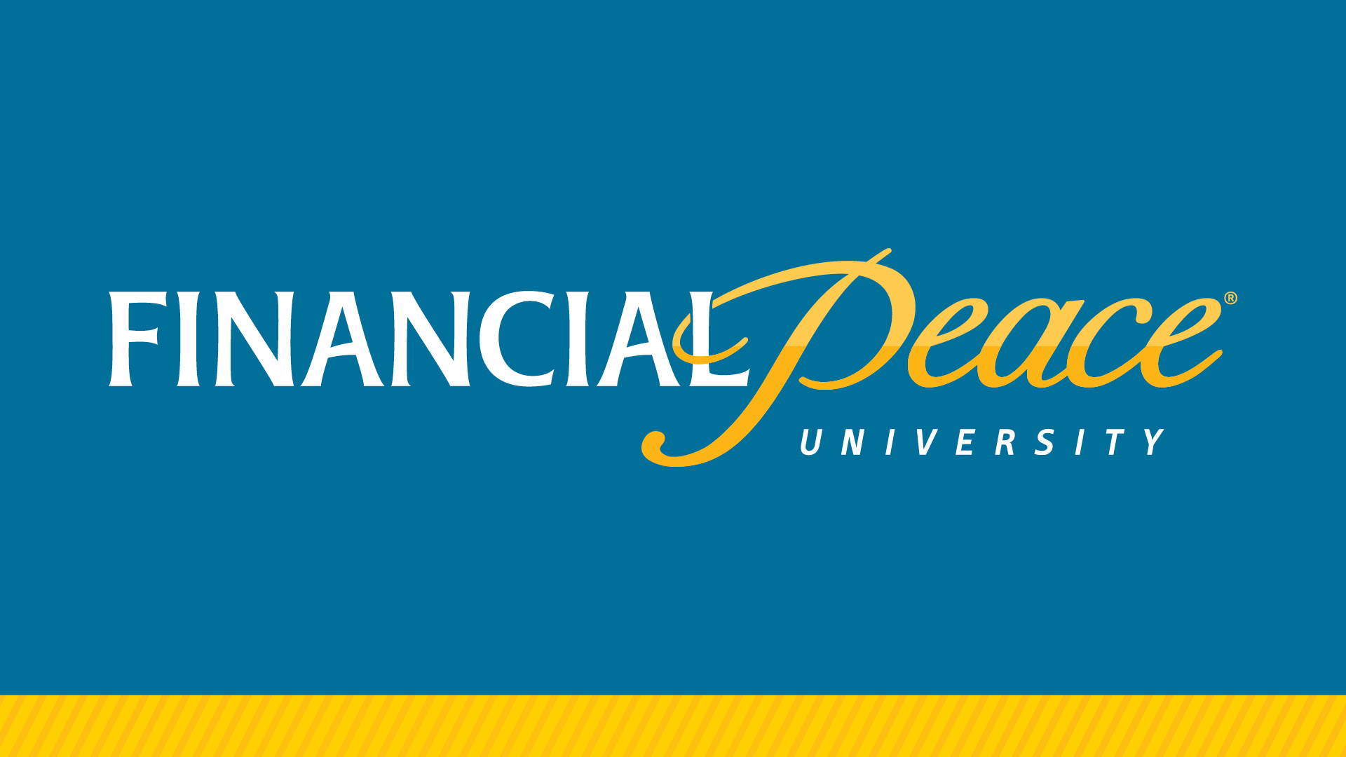 Financial peace slide large logo