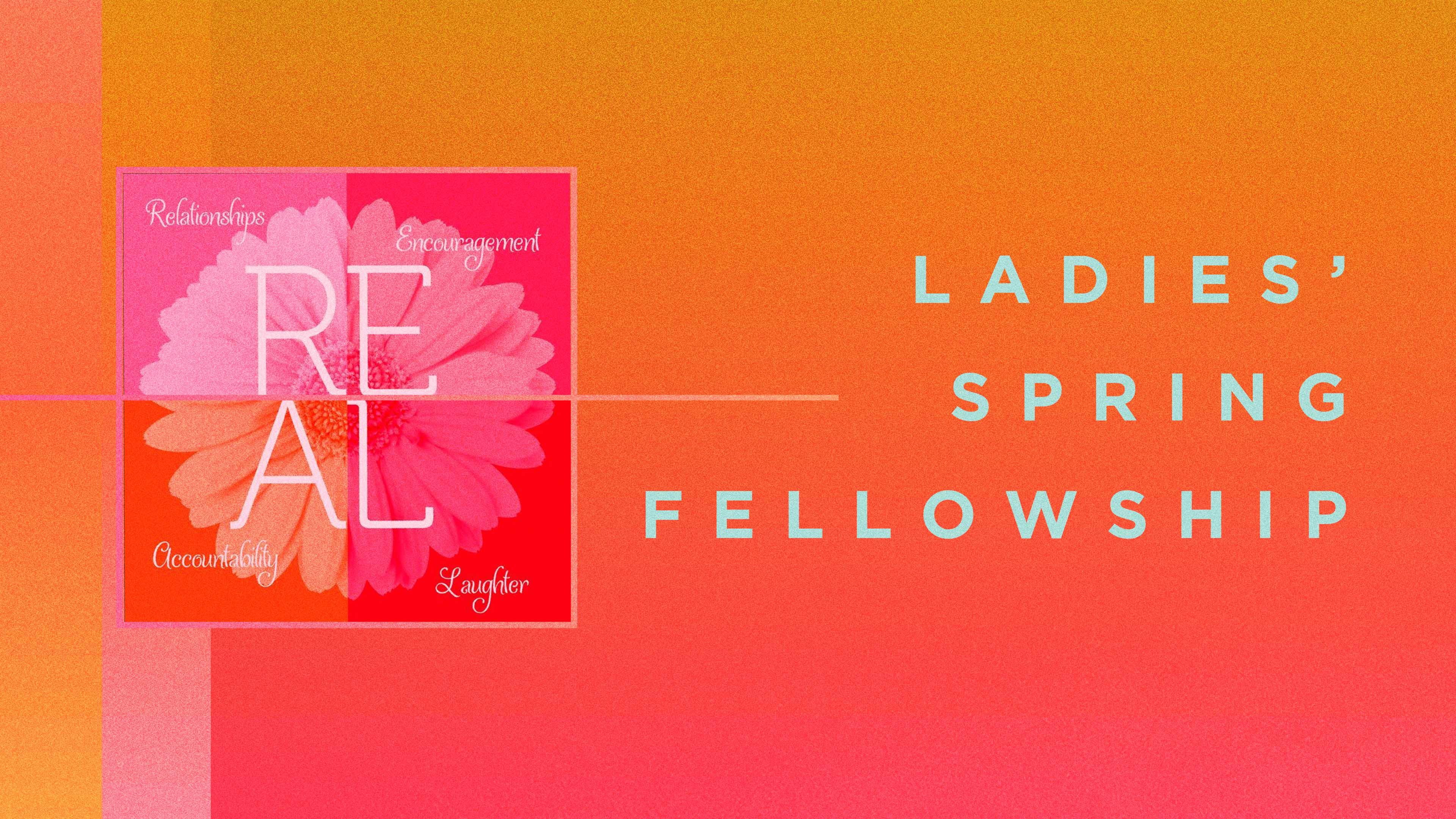 Ladies spring fellowship