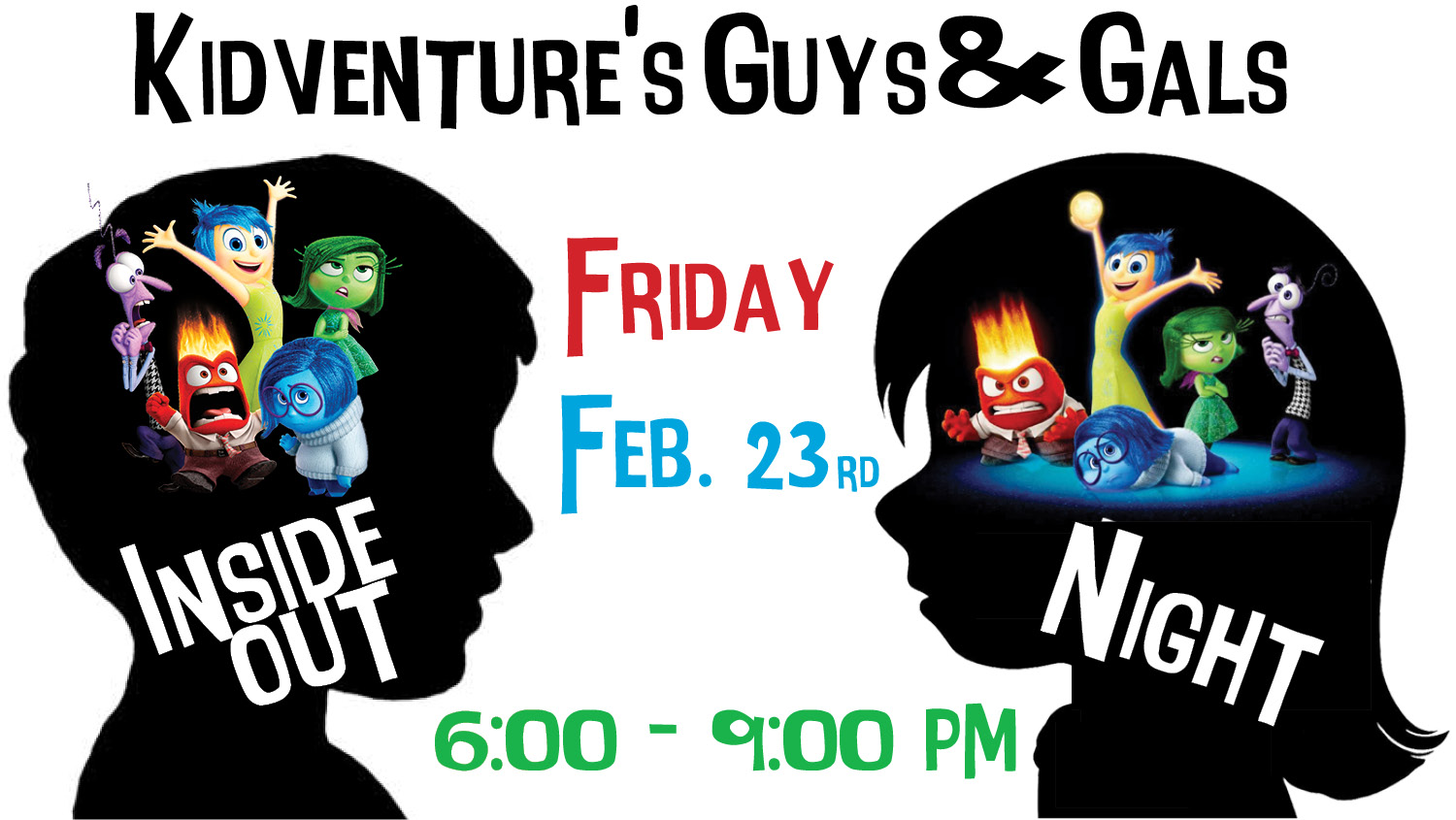 Guys   gals inside out night