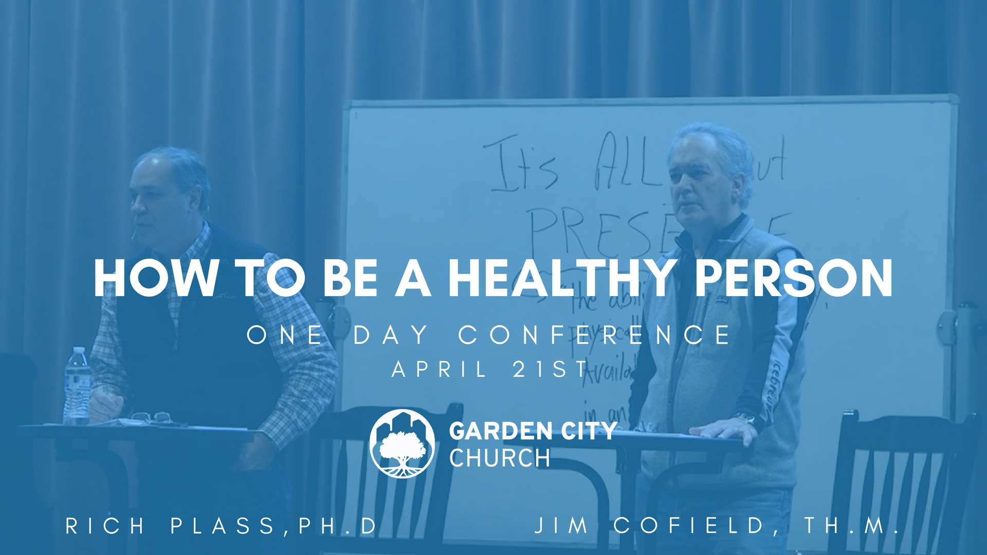 How to be a healthy church