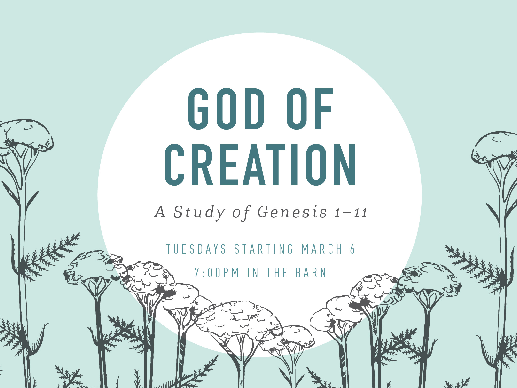 God of creation bible study spring 2018 pc registrations