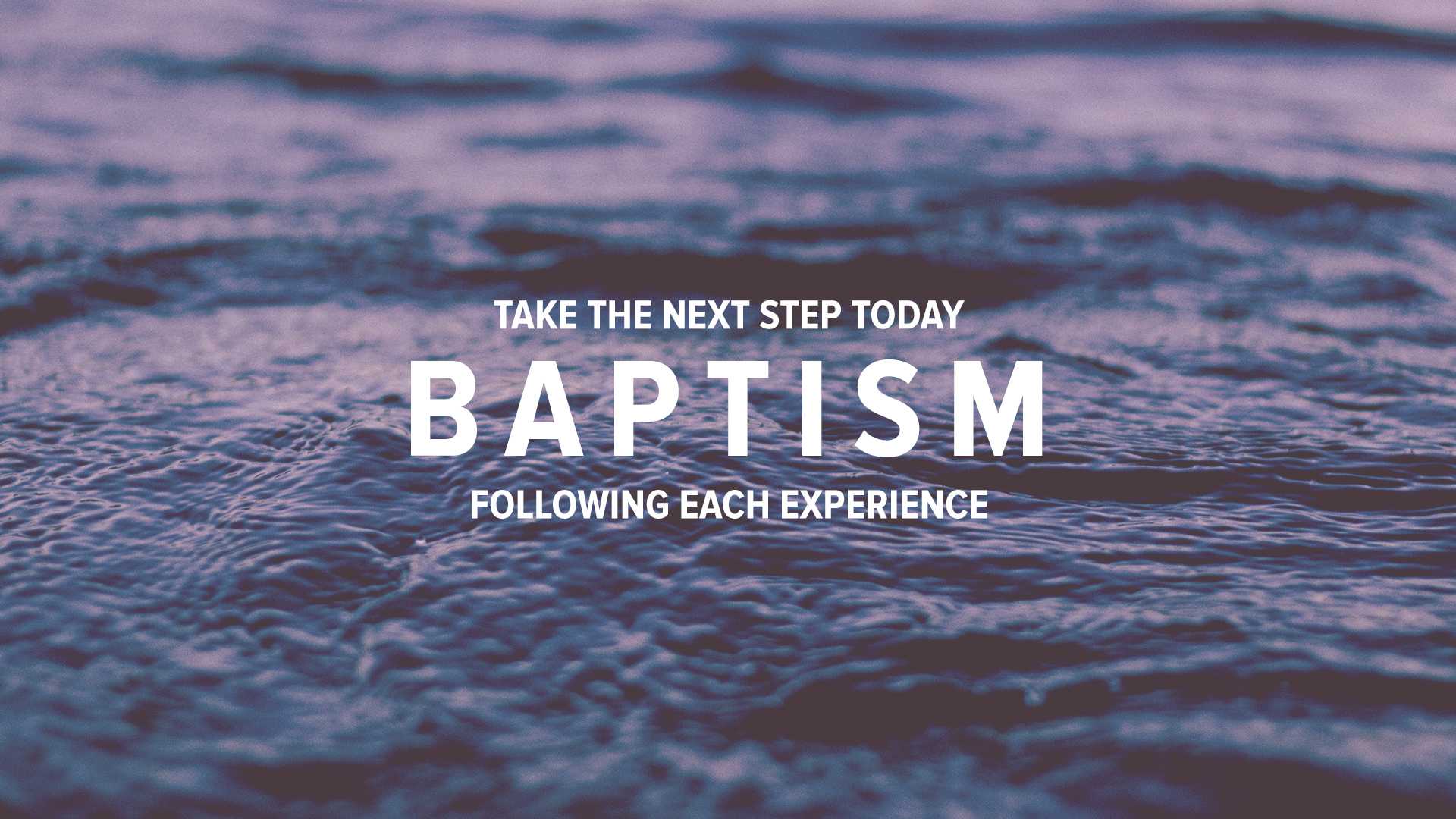 Baptism promo 2017