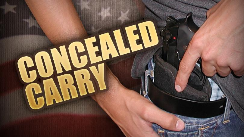 Concealed gun mgn