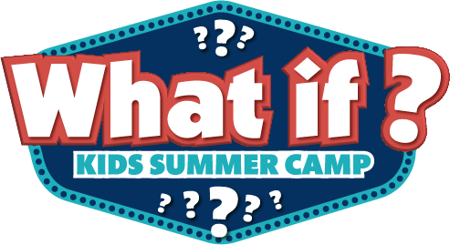 What if summer camp logo