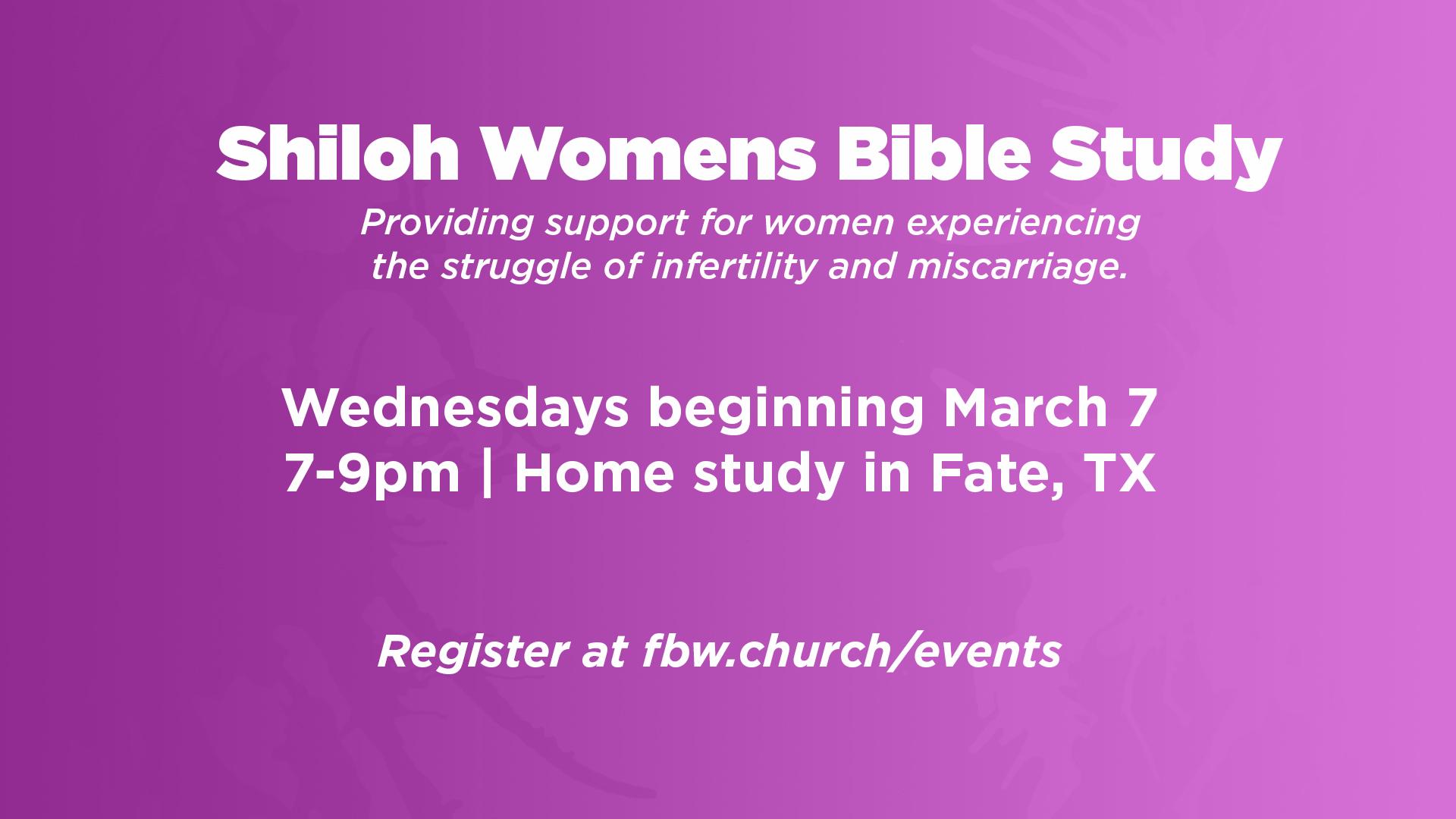 Shiloh bible study