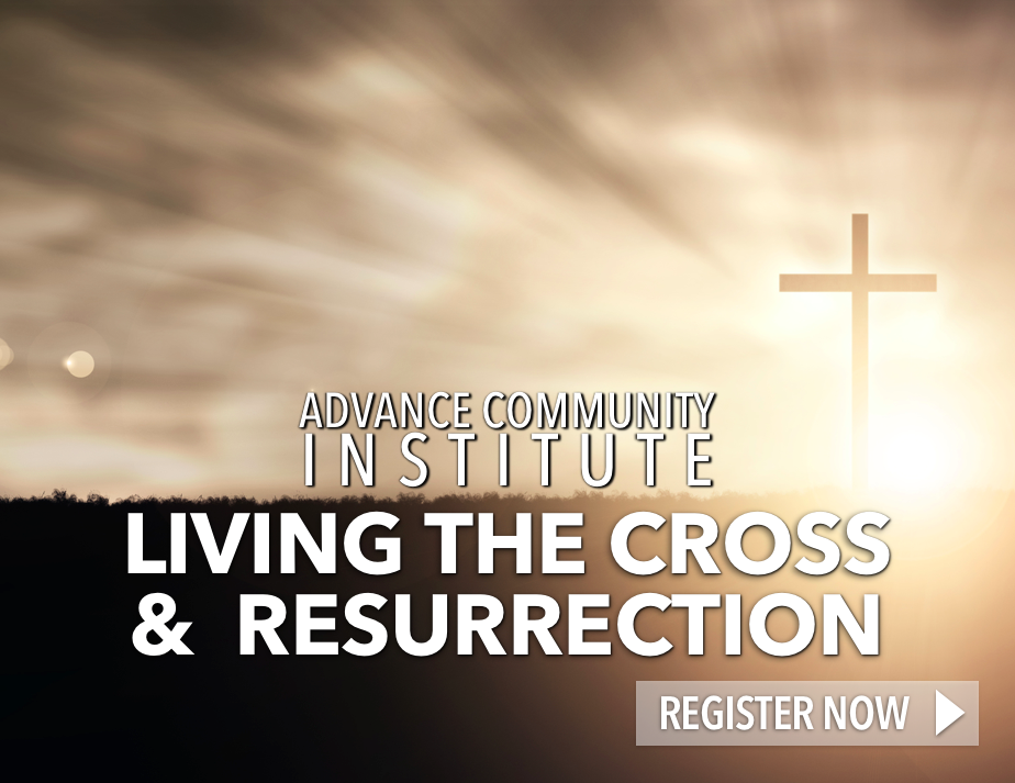 Livingthecrossandresurrection