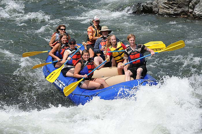 South fork american and middle fork american river combo overnight 3 day raft trip for sfa page