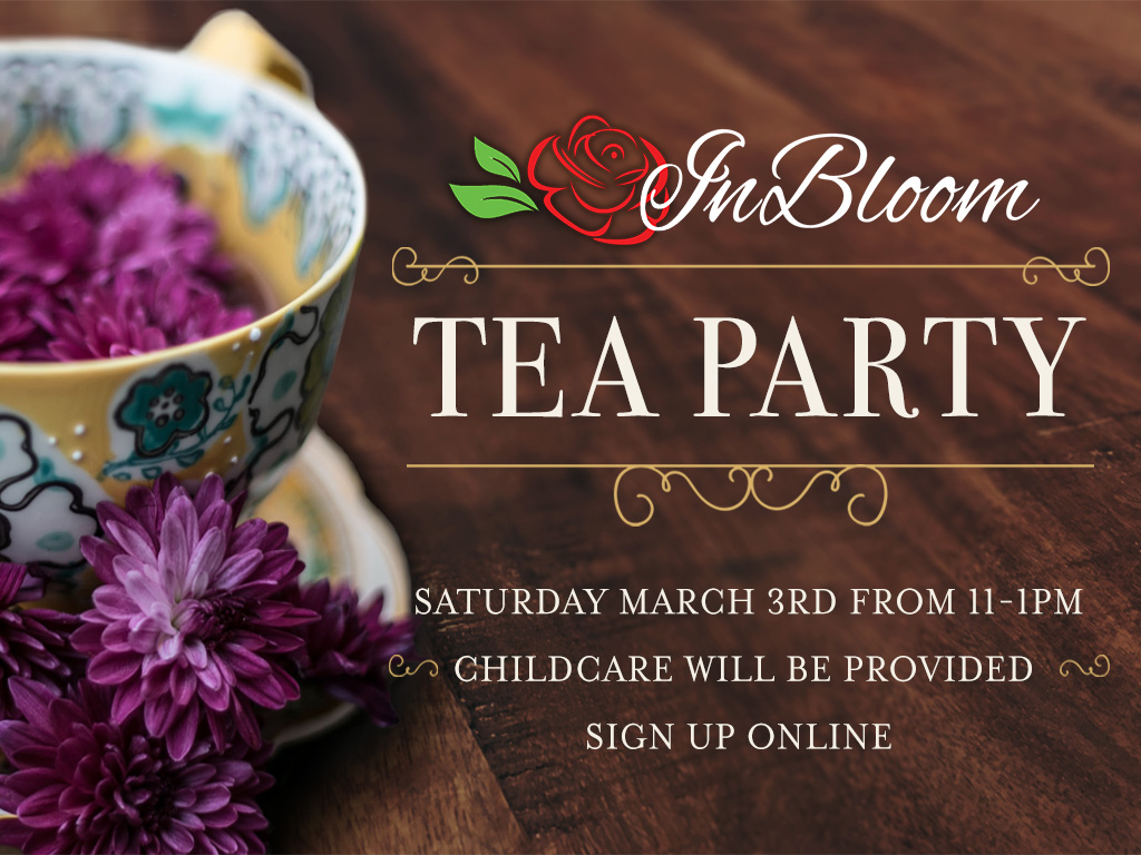 In bloom tea pc