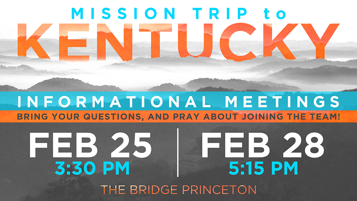 Kentucky mission trip informational meeting 16x9 slide