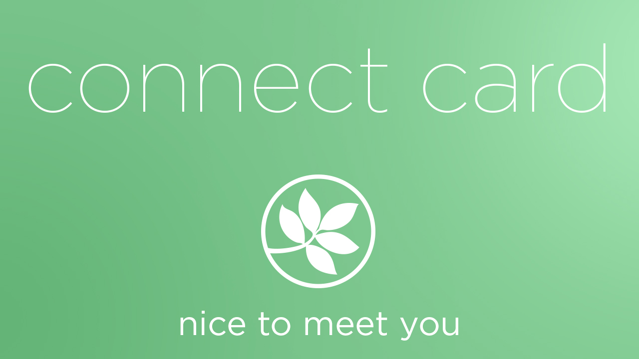 Connect card 2018