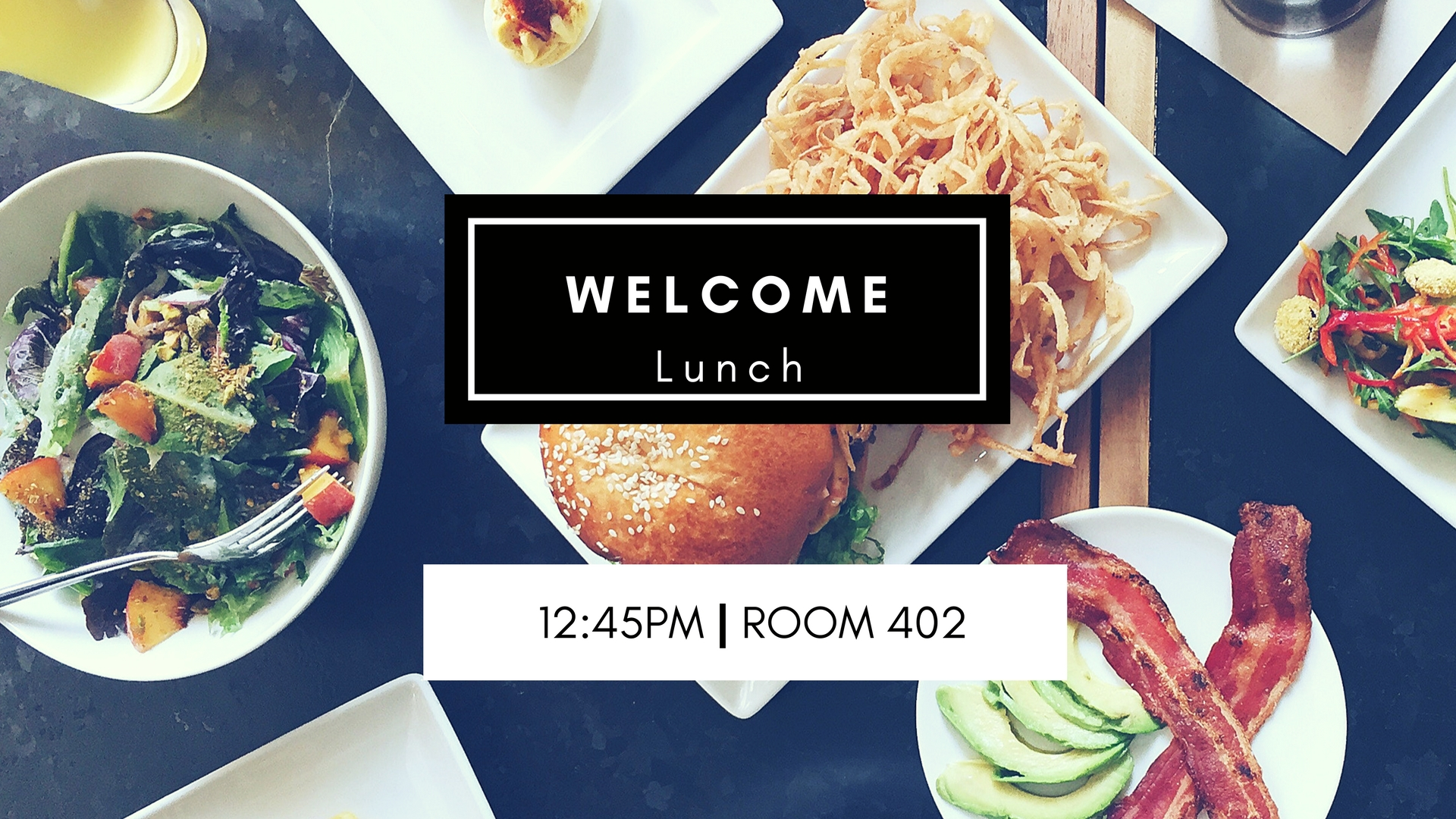 Welcome lunch web