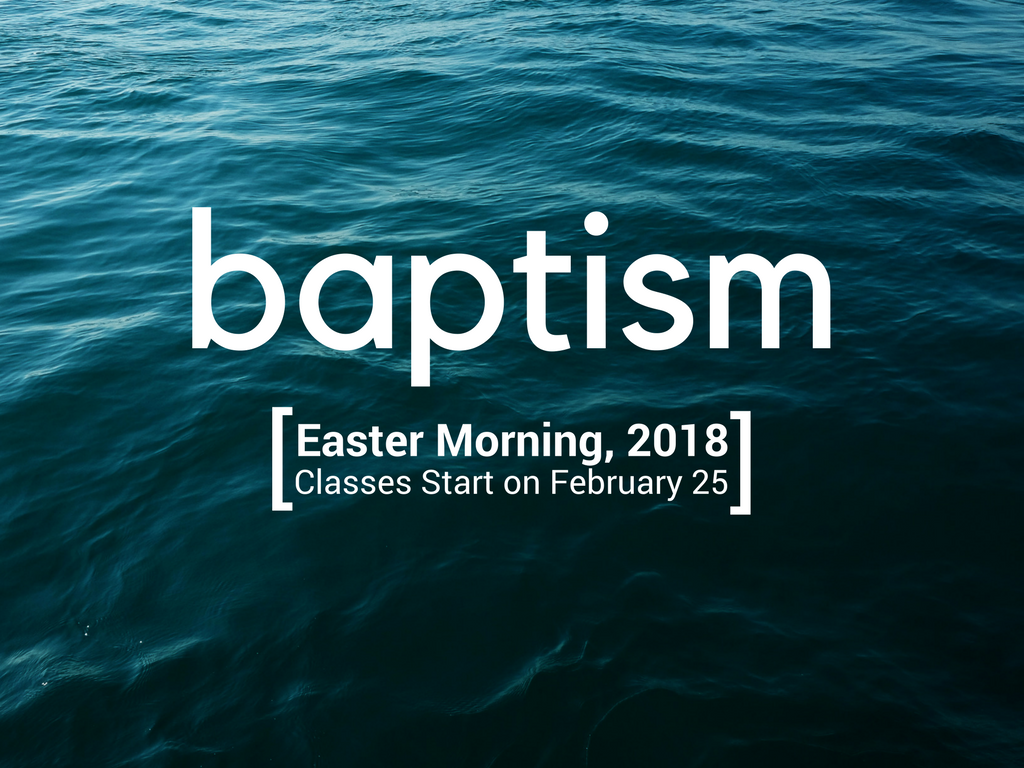 Baptism registrations logo