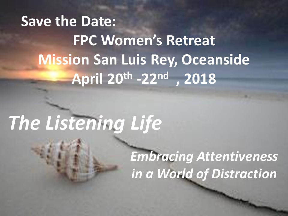 Womens retreat save the date 1 2018 slide
