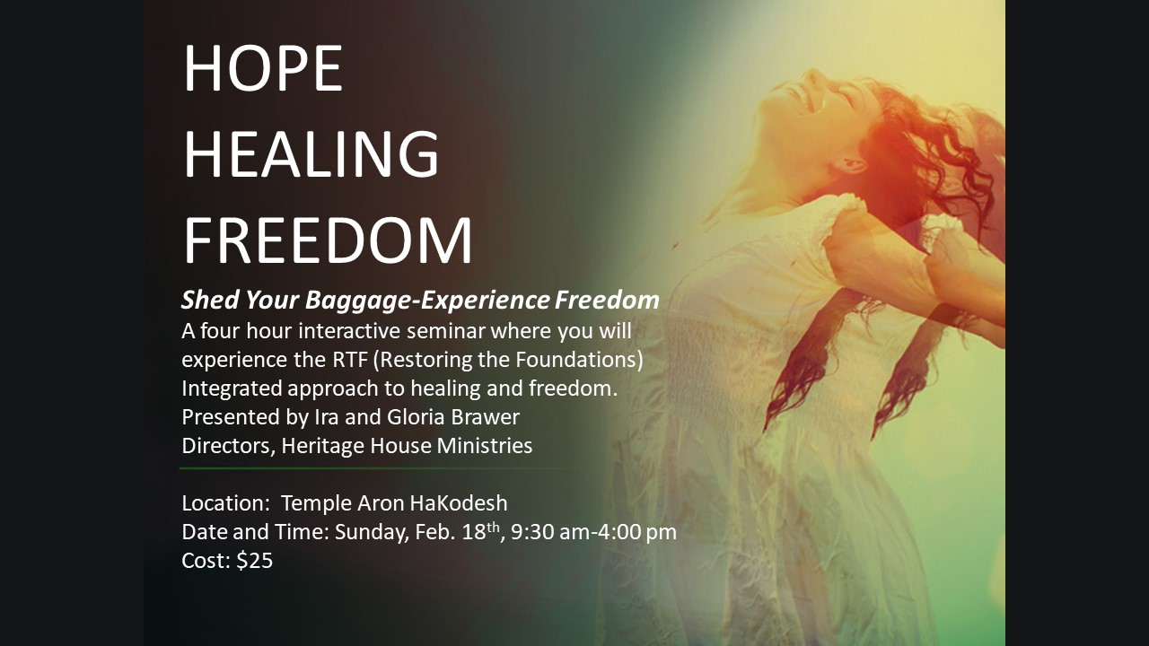 Graphic for hope healing freedom seminar 25