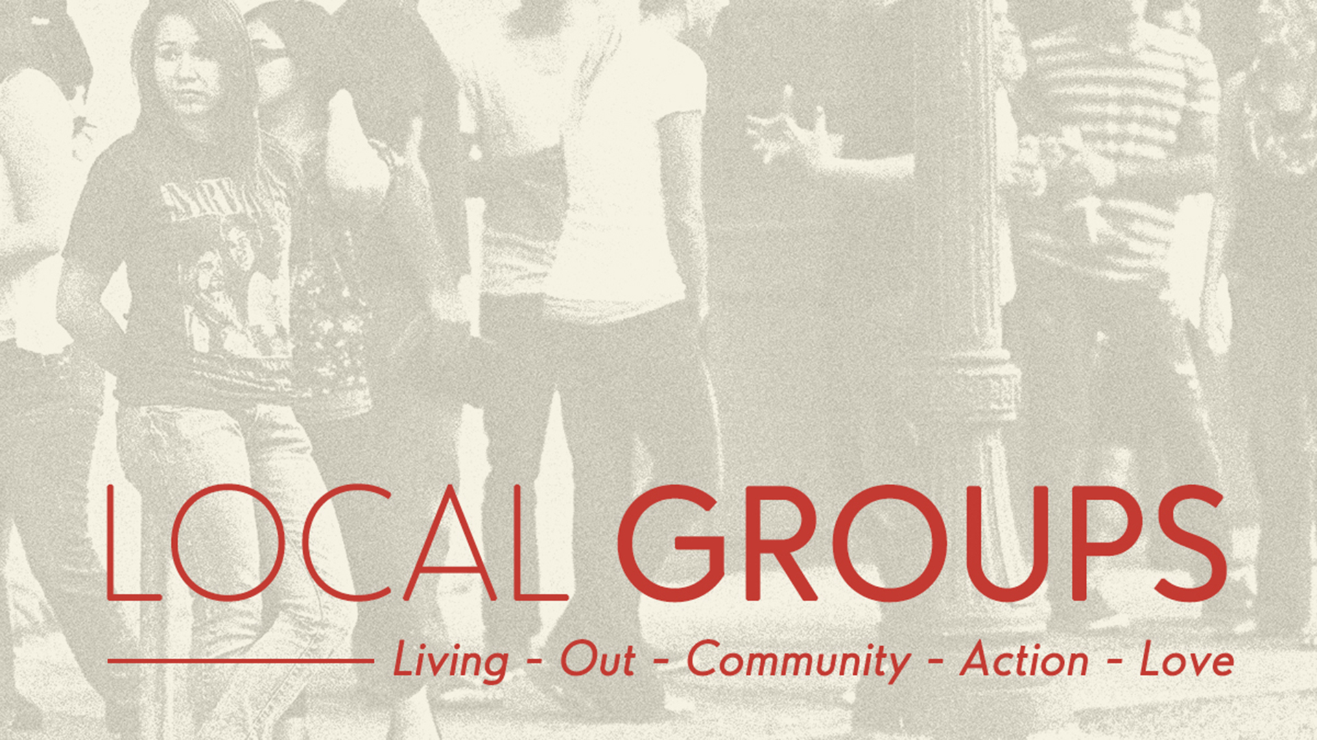 Local groups tv