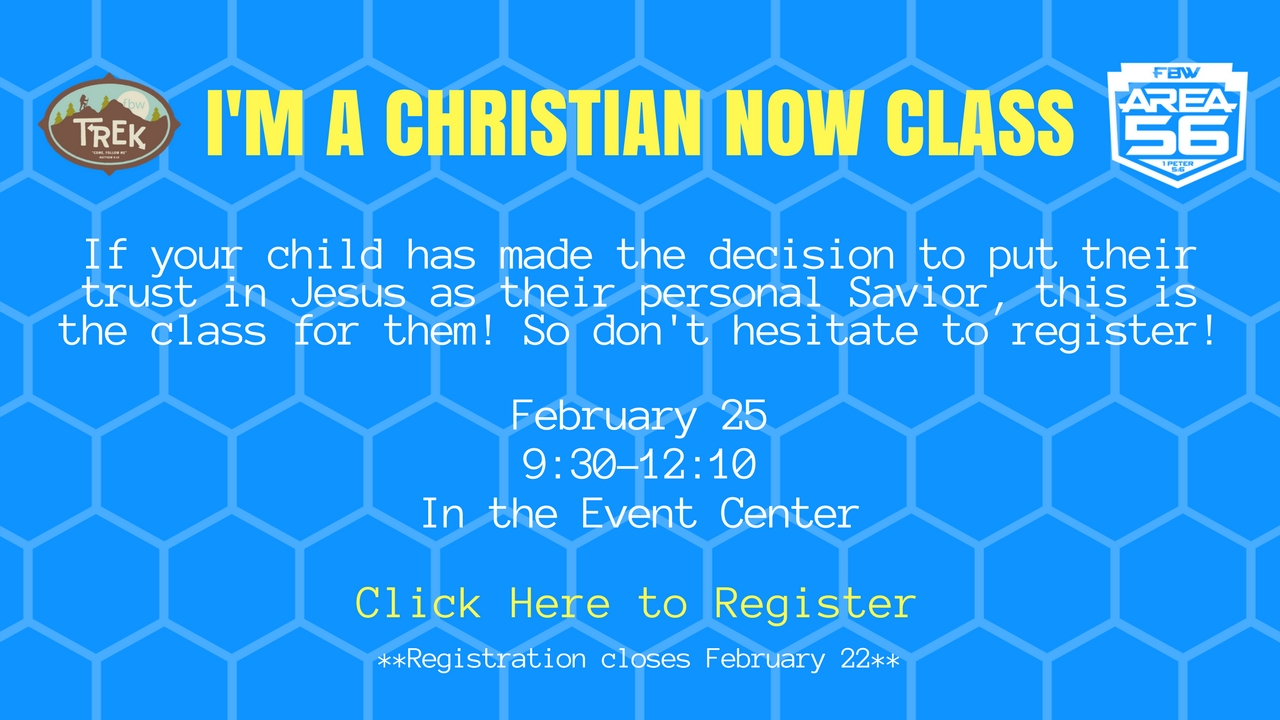 I m a christian now class  2
