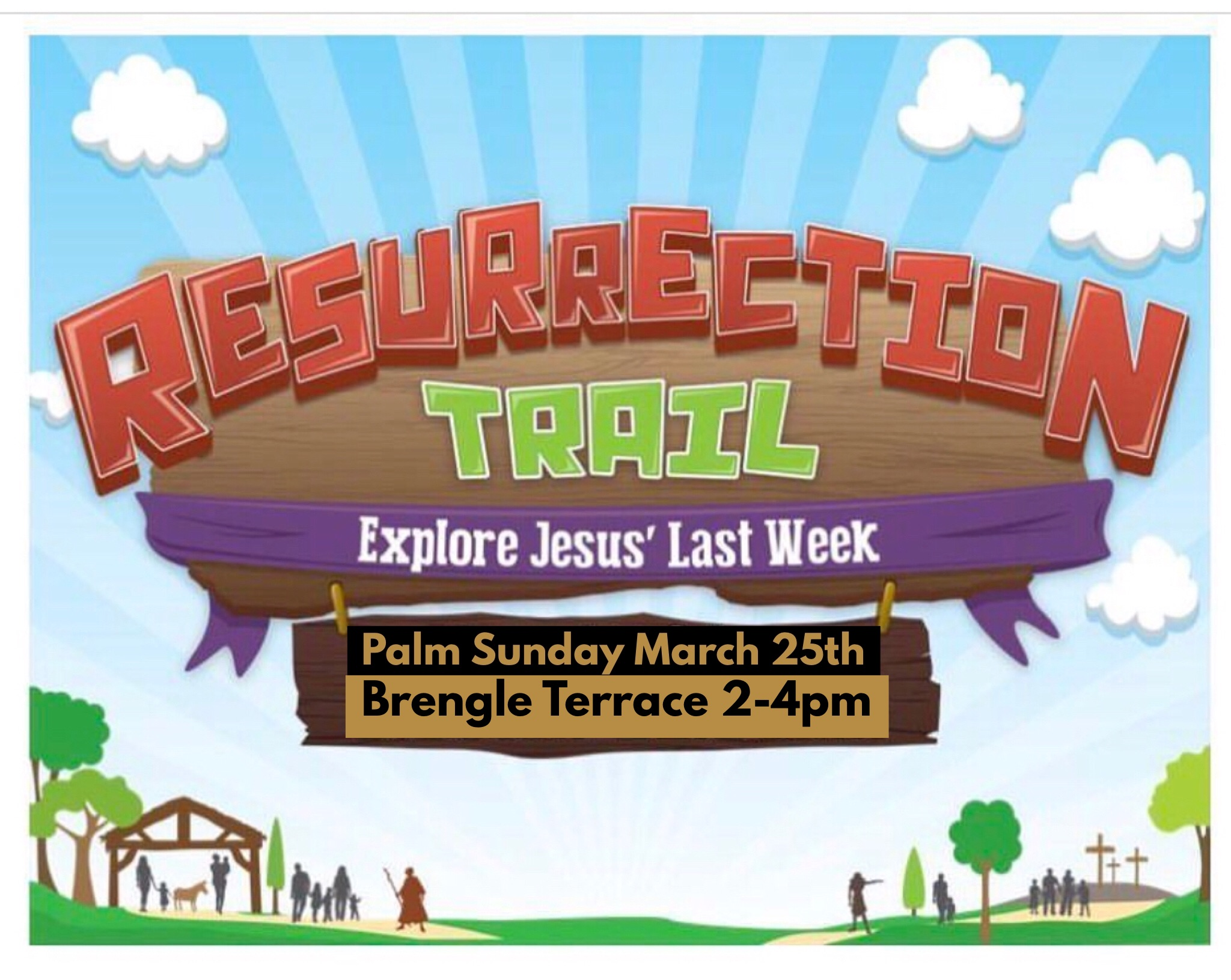 Resurrection trail logo