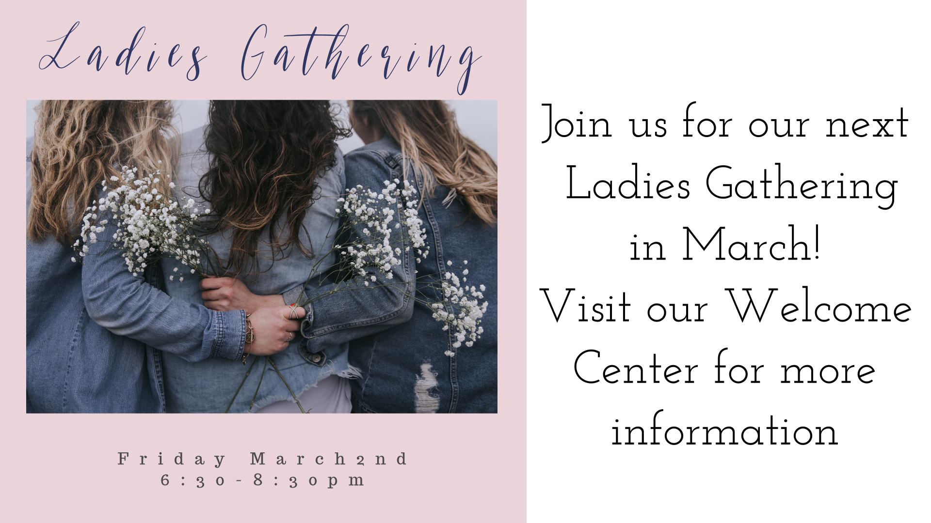 March ladies gathering