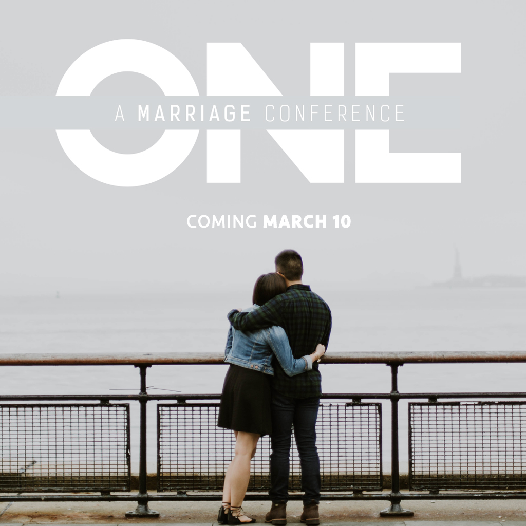One marriage conference square