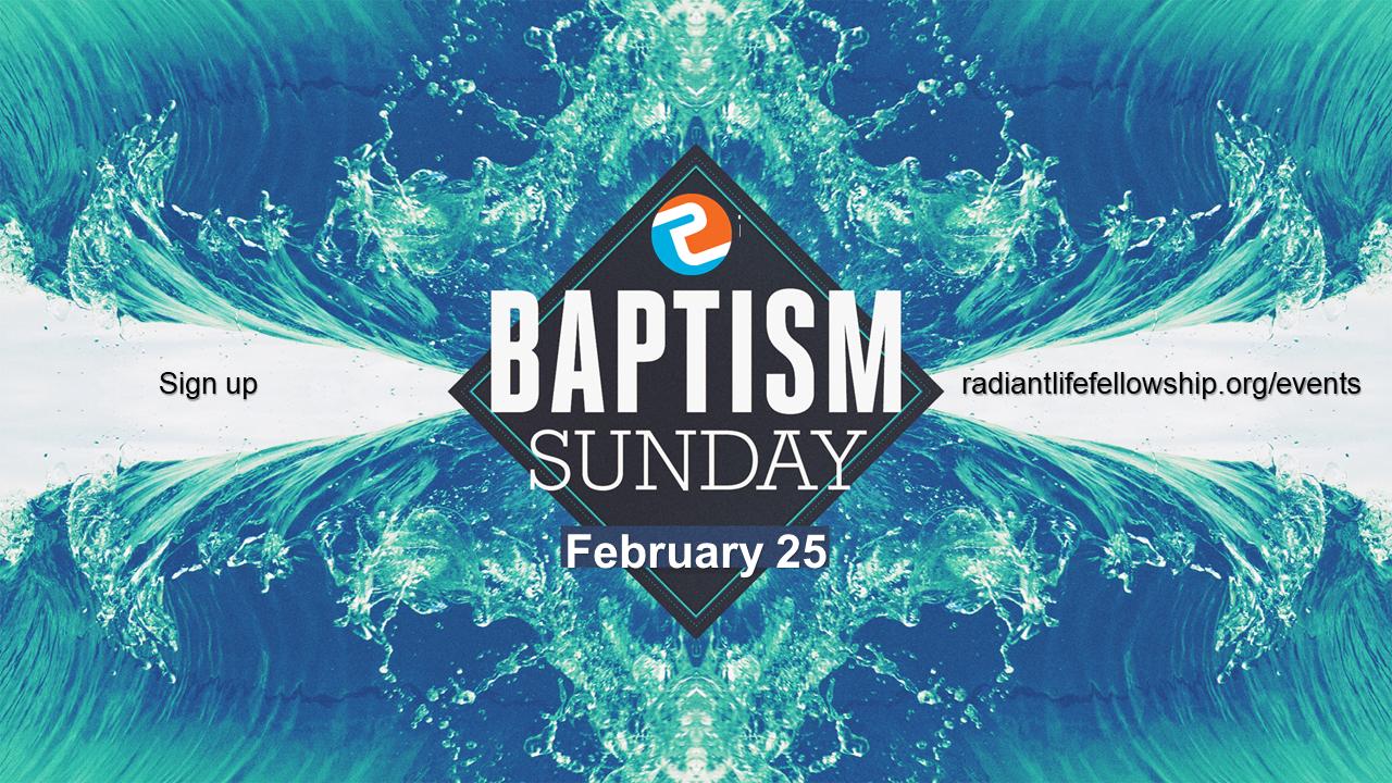 Baptism feb 25
