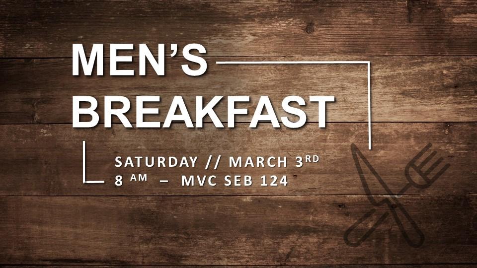 Mens breakfast logo 2018