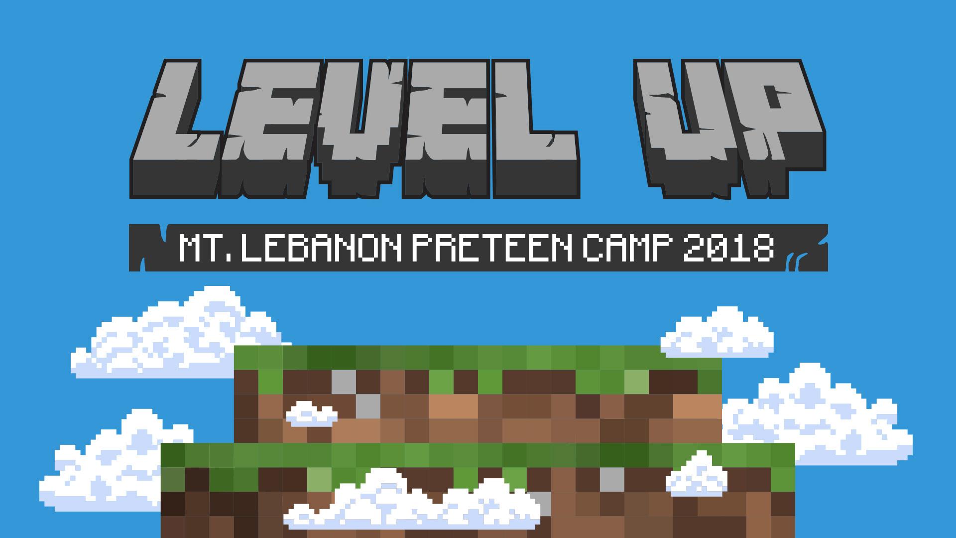 Level up title slide