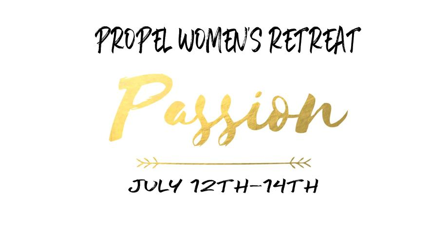 Passion retreat logo