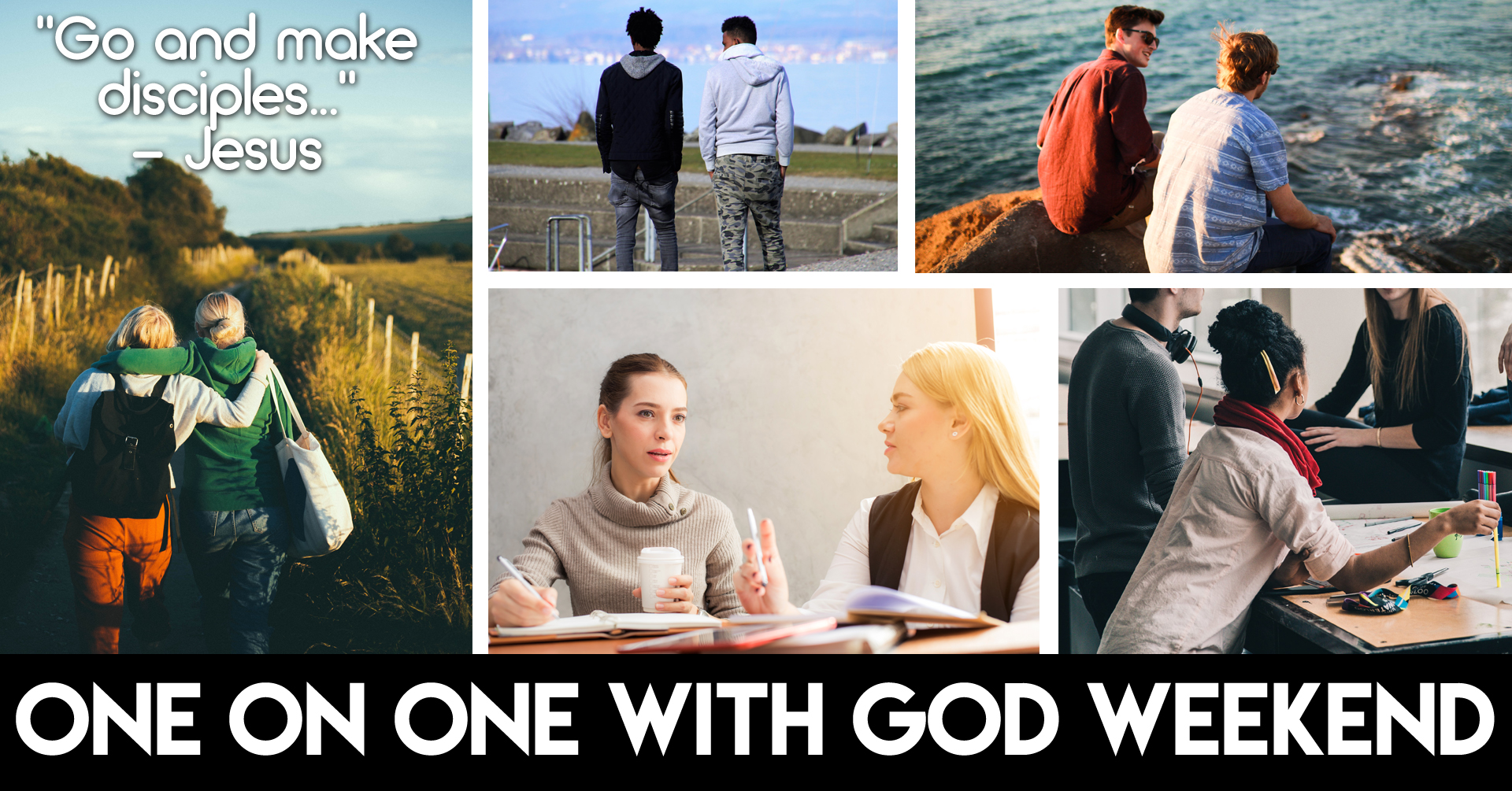 One on one with god facebook event