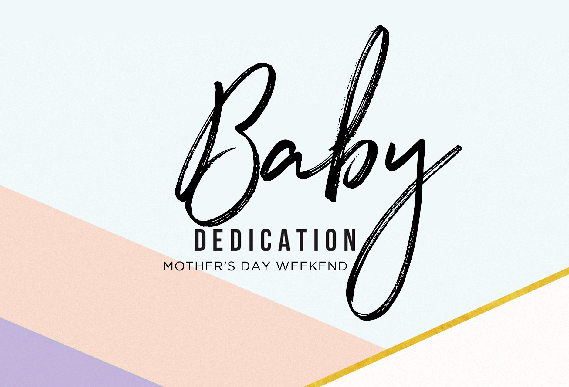 Babydedication may2018
