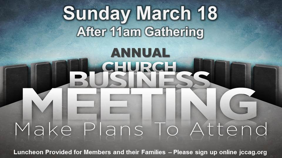 3.18.18 church business meeting