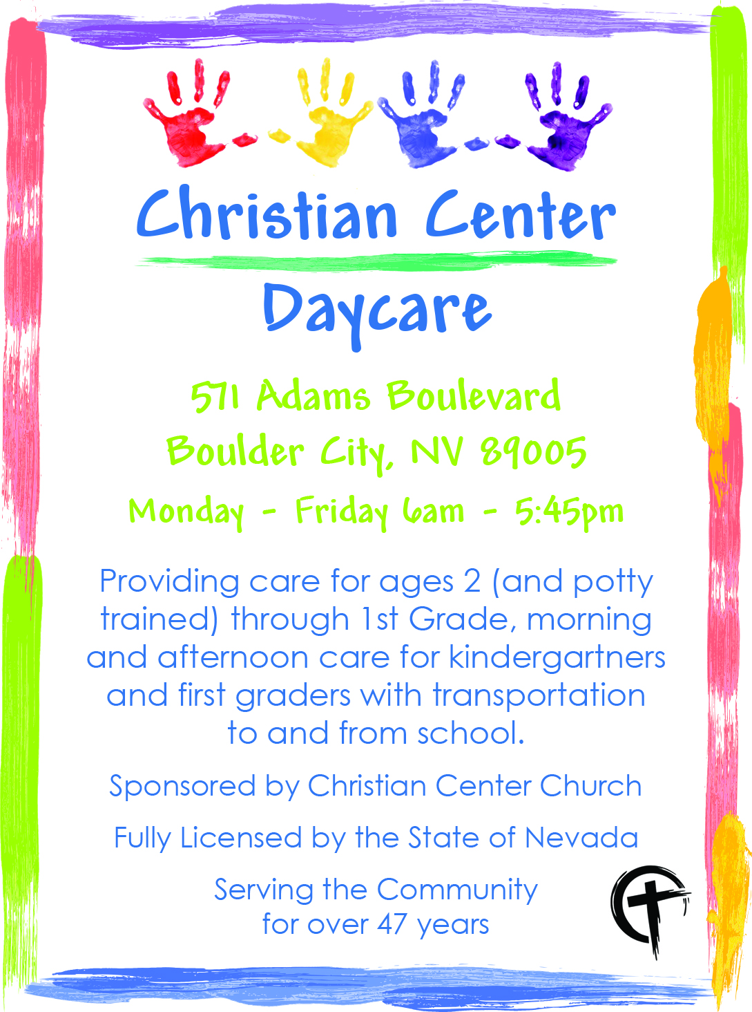 Christiancenter daycare march16