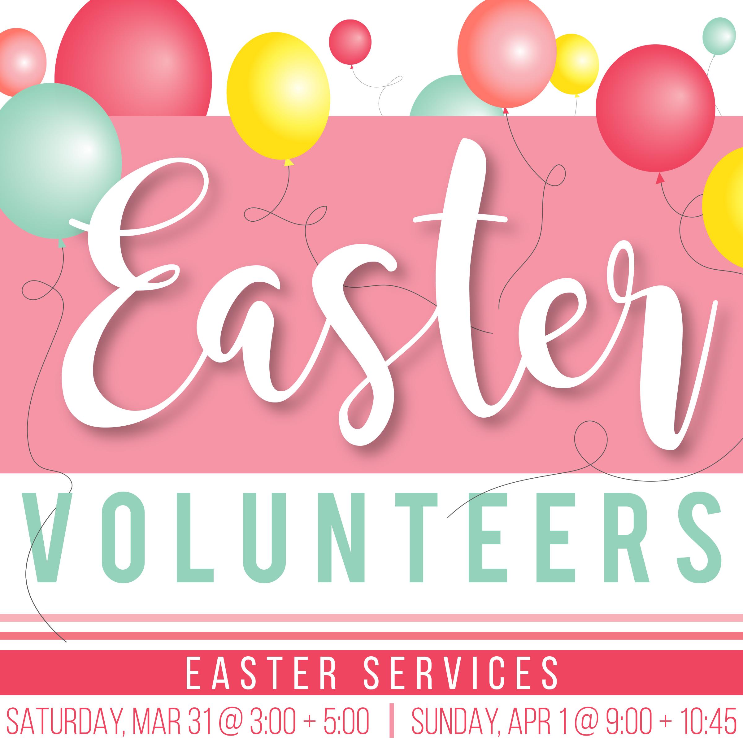 Easter volunteer ss