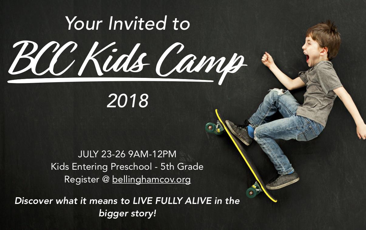 Camp invite single