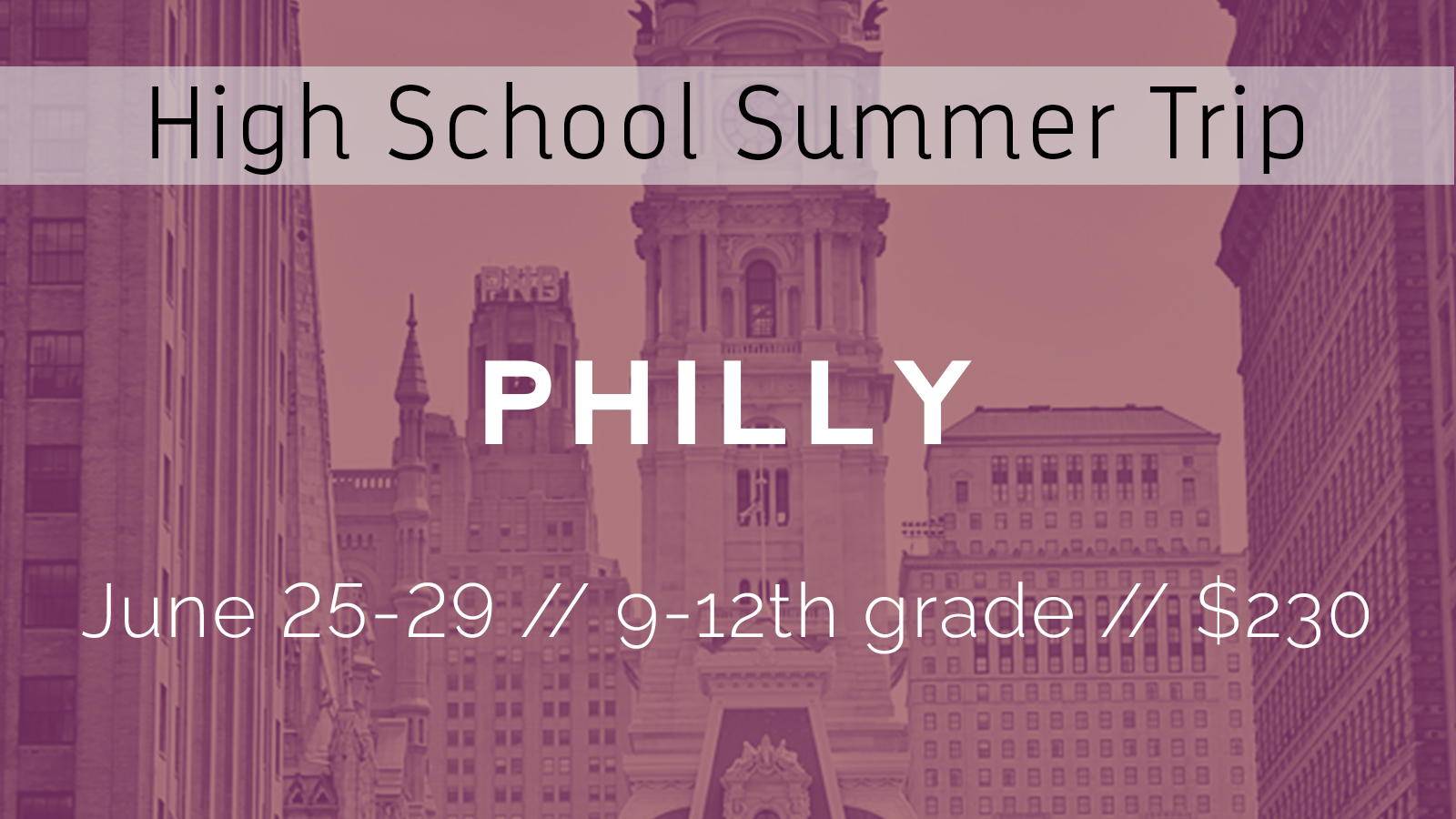 Hs philly large font