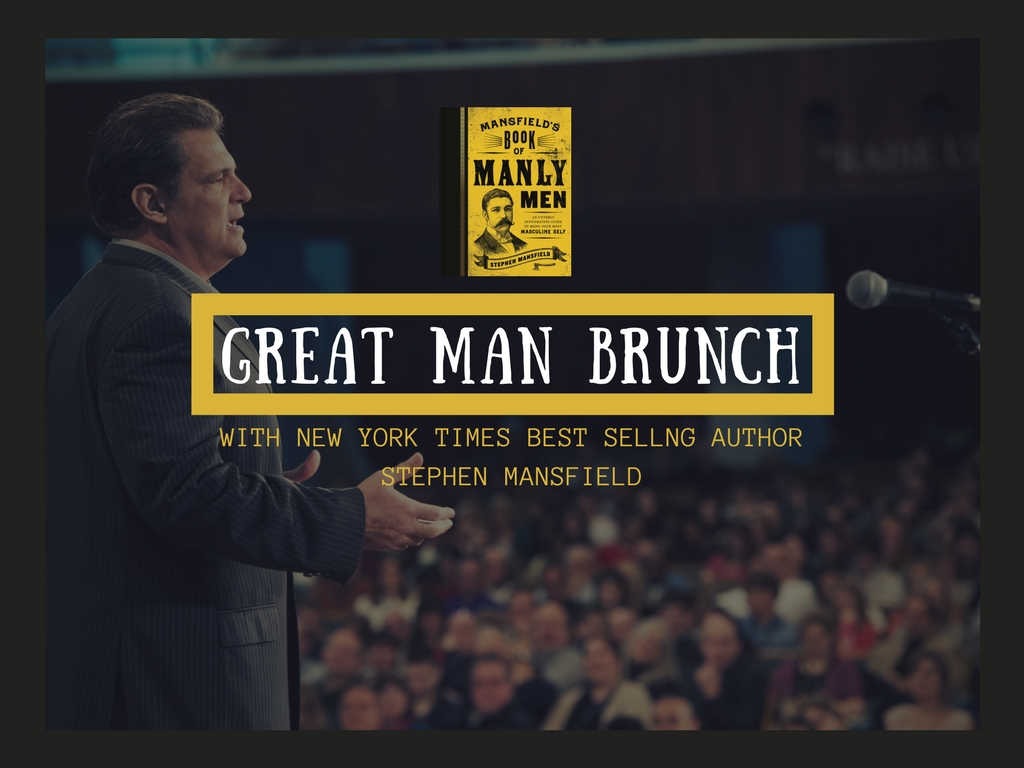 Great man brunch graphic