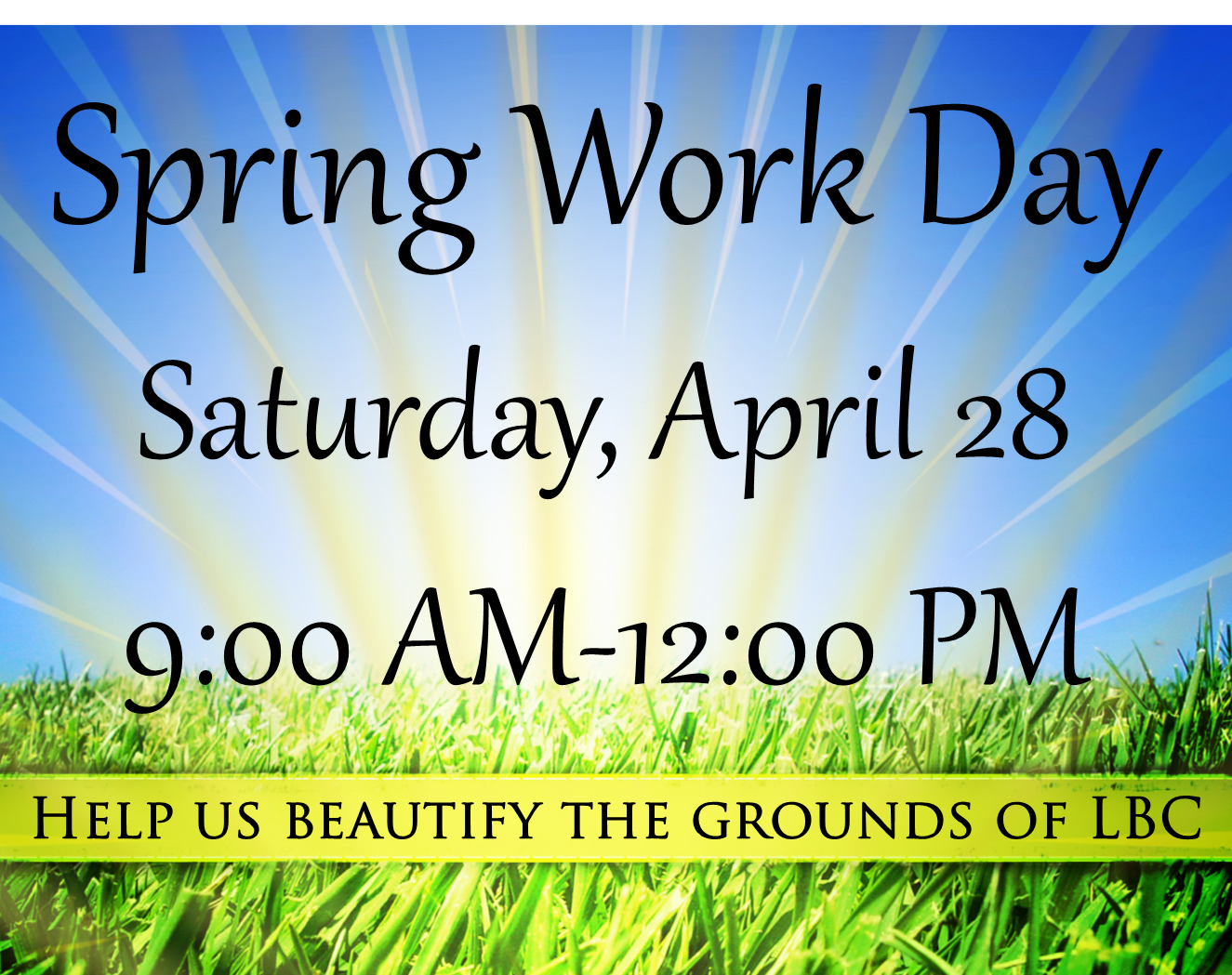 4.28.18 rescheduled work day