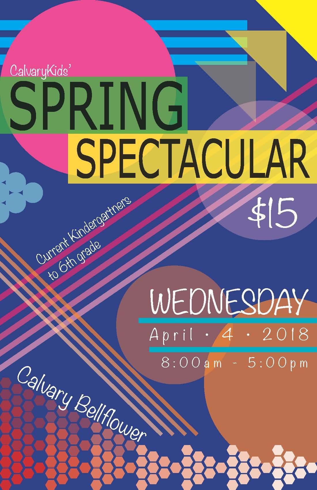 Spring spectacular flyer 2018 2