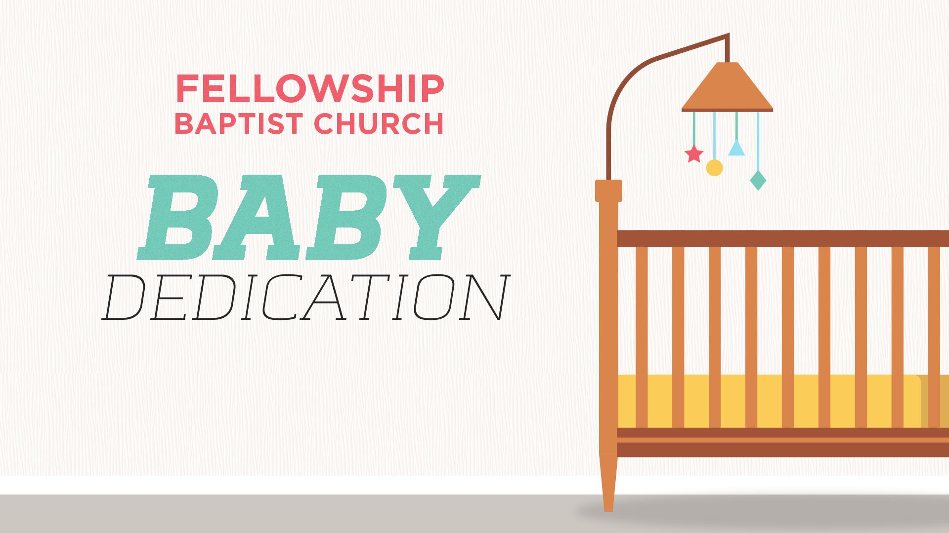 Fbc baby dedication