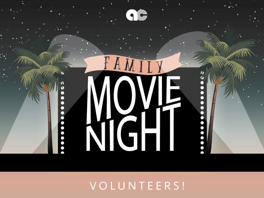 Acc movie night pc volunteers
