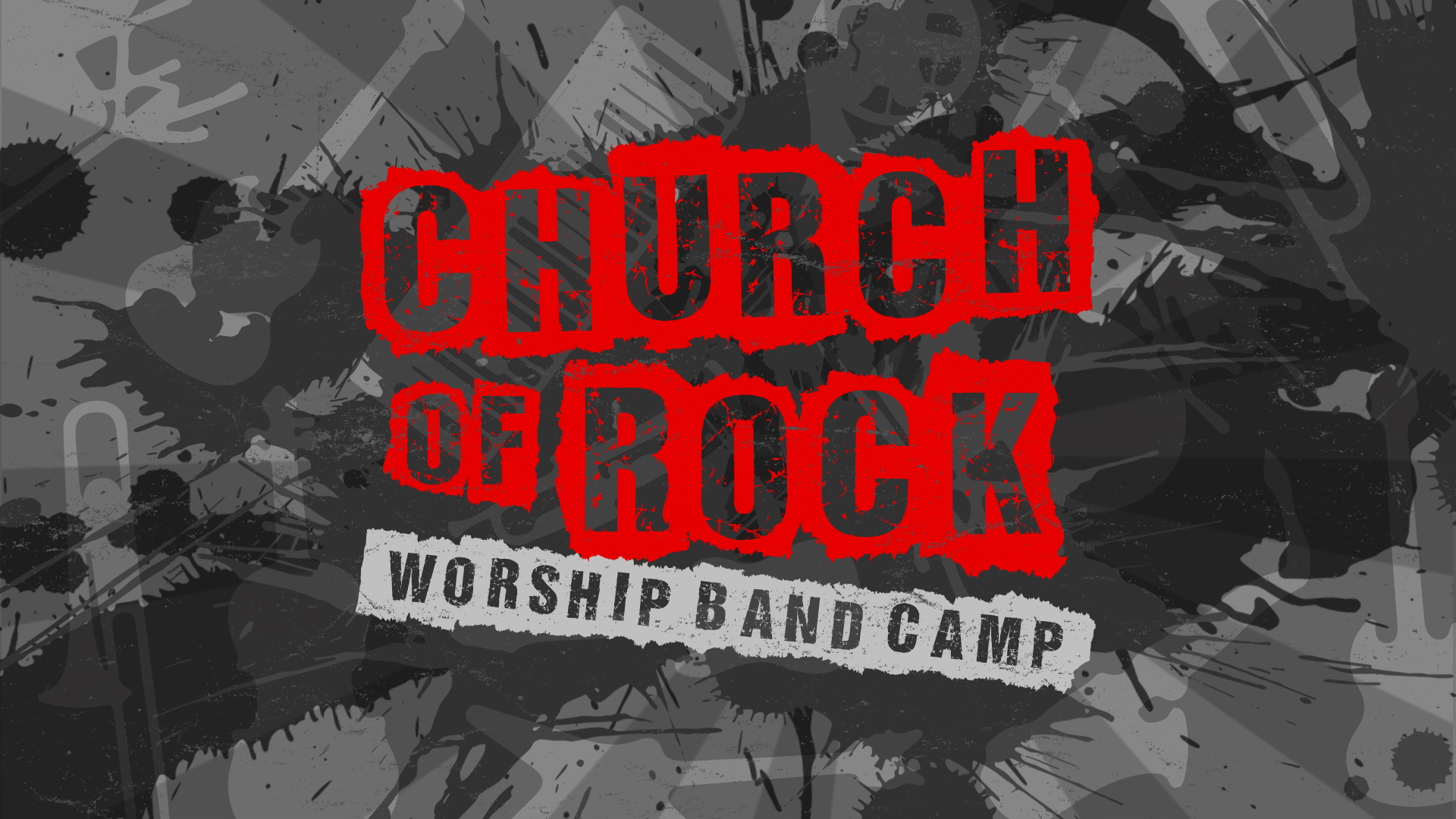 Church of rock 2018 title