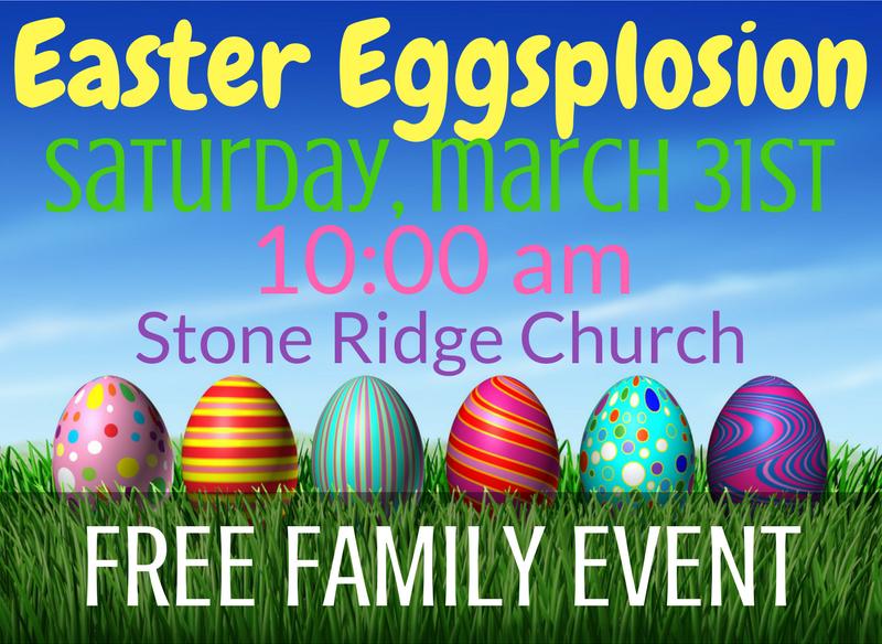 Easter eggsplosion 2018
