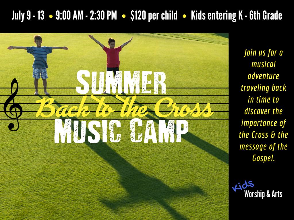 Summermusic camp registration graphic