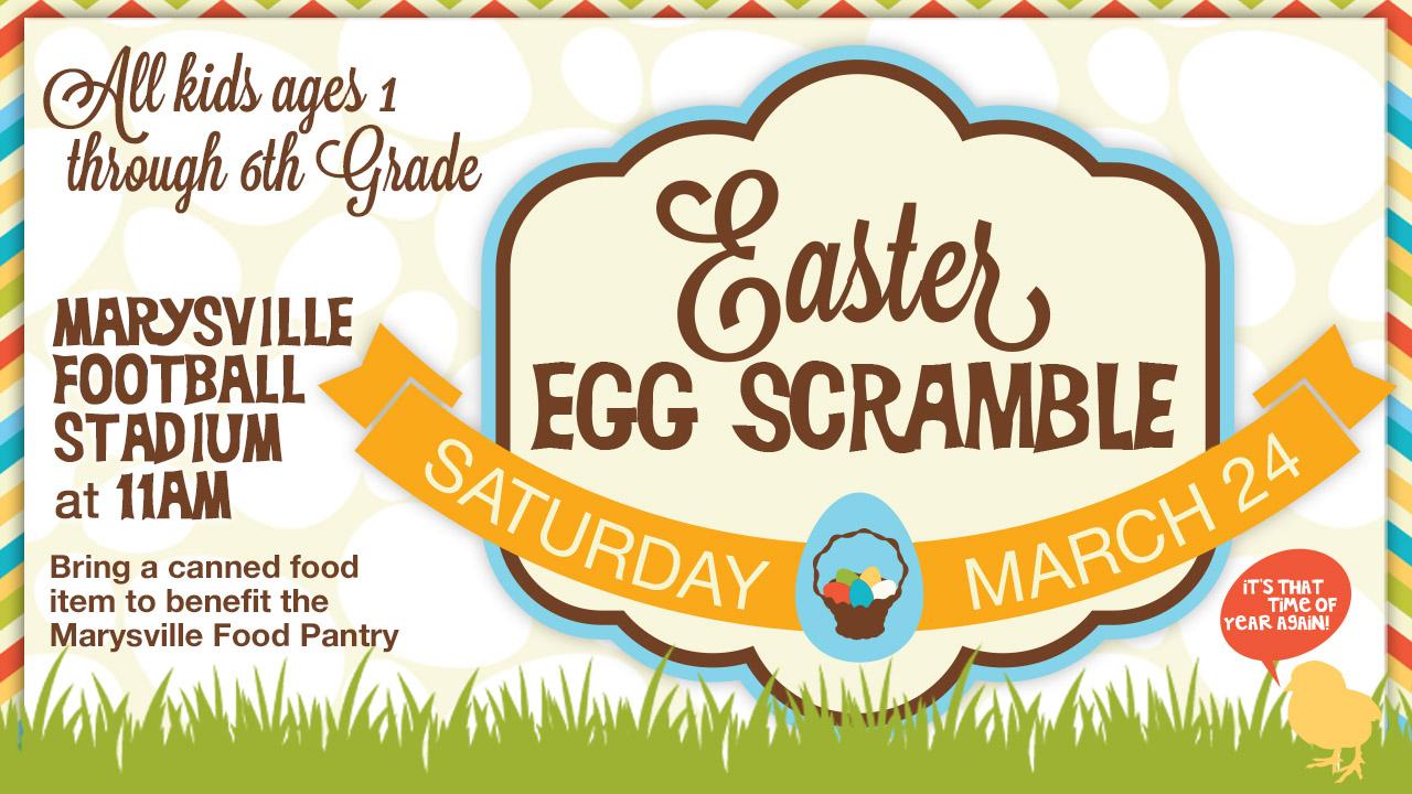 Easter egg scramble invite pco