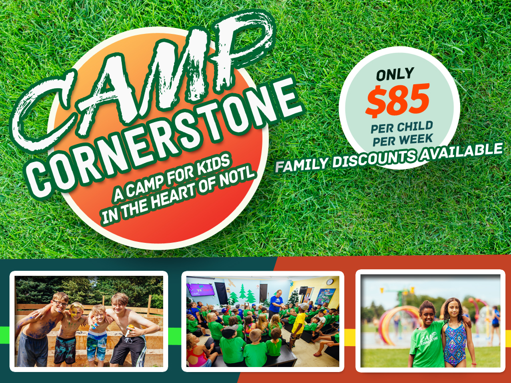 Camp cornerstone registrations logo 2018