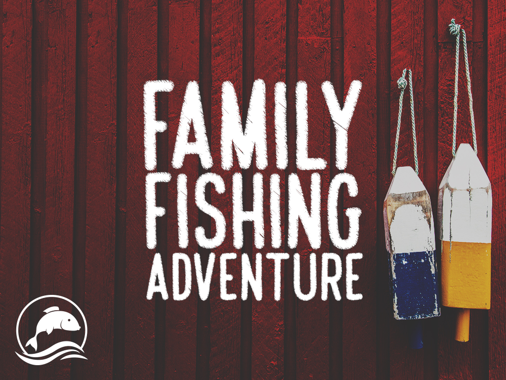 Family fishing adventure pco title